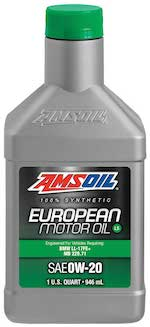 SAE 0W-20 LS Synthetic European Motor Oil