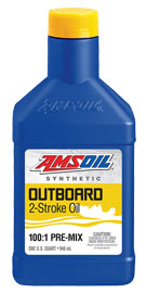 AMSOIL Outboard 100:1 Pre-Mix Synthetic 2-Stroke Oil (ATO)