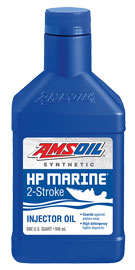 AMSOIL HP Marine Synthetic 2-Stroke Oil (HPM)